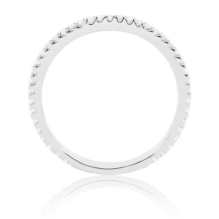 Sir Michael Hill Designer GrandArpeggio Wedding Band with 1/4 Carat TW of Diamonds in 14kt White Gold