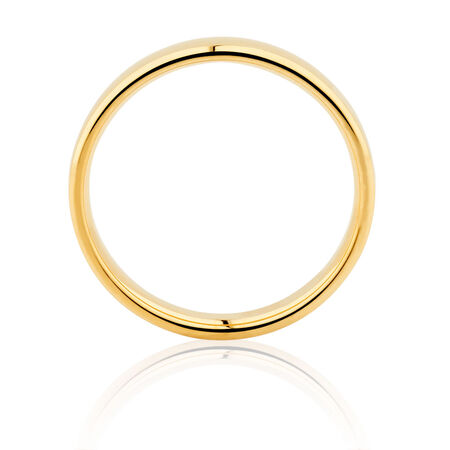 Wedding Band in 14kt Yellow Gold