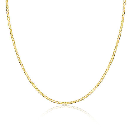 """45cm (18"""") Anchor Chain in 10kt Yellow Gold"""