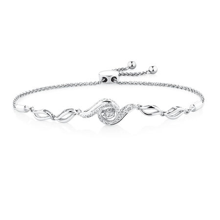 Everlight Bracelet with 1/4 Carat TW of Diamonds in Sterling Silver