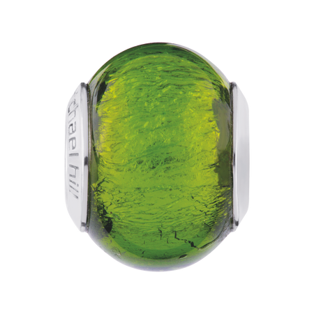 Bright Green Murano Glass Charm