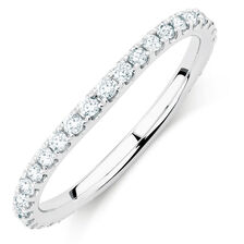 Sir Michael Hill Designer GrandAllegro Wedding Band with 1/2 Carat TW of Diamonds in 14kt White Gold
