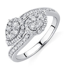 By My Side Ring with 5/8 Carat TW of Diamonds in 10kt White Gold