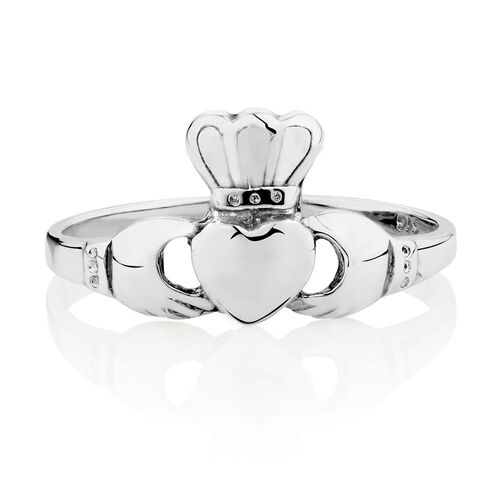 Claddagh Ring in Sterling Silver