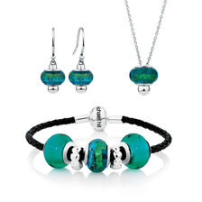 Online Exclusive - Glass & Sterling Silver Boxed Set