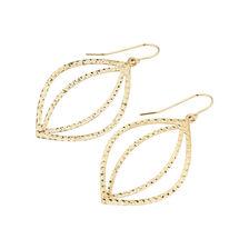 Online Exclusive - Fancy Drop Earrings in 10kt Yellow Gold