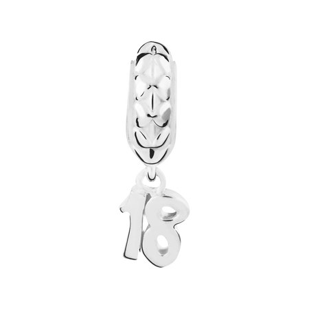 Sterling Silver 18 Charm