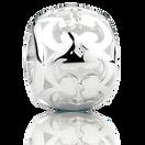 Sterling Silver Filigree Pattern Charm