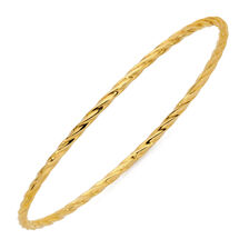 Online Exclusive - Bangle in 10kt Yellow Gold