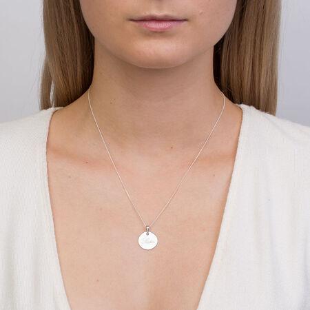 Sister' Pendant in Sterling Silver