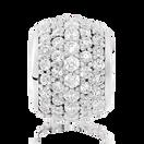 White Cubic Zirconia Charm