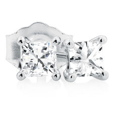Classic Stud Earrings with 1/3 Carat TW of Diamonds in 10kt White Gold