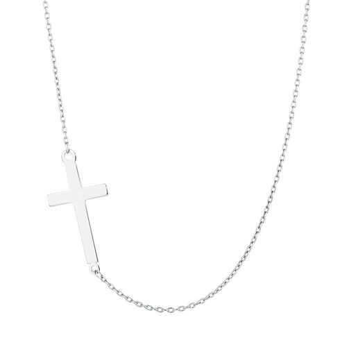 Cross Necklace in Sterling Silver