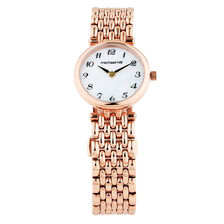 Ladies Watch with Mother of Pearl in Rose Tone Stainless Steel