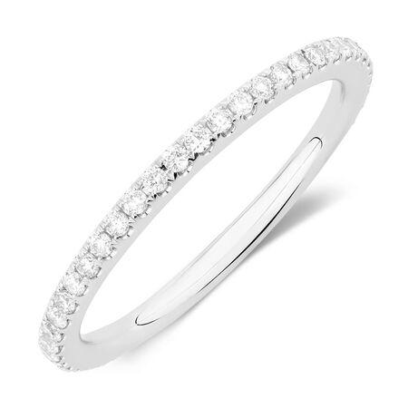 Sir Michael Hill Designer GrandAllegro Wedding Band with 1/3 Carat TW of Diamonds in 14kt White Gold