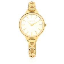Ladies Bracelet Watch in Gold Tone Stainless Steel