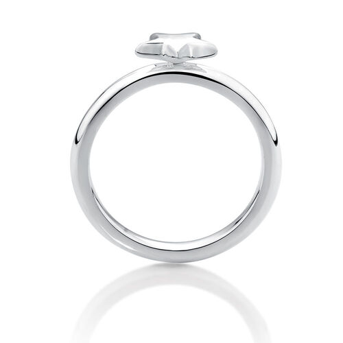 Online Exclusive - Sterling Silver Star Stacker Ring