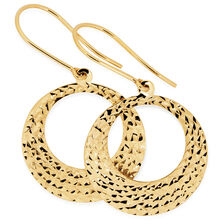 Drop Earrings in 10kt Yellow Gold