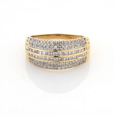 Online Exclusive - Ring with 1 Carat TW of Diamonds in 14ct Yellow Gold
