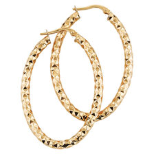 Online Exclusive - Hoop Earrings in 10kt Yellow Gold