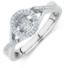 Everlight Ring with 1/5 Carat TW of Diamonds in Sterling Silver
