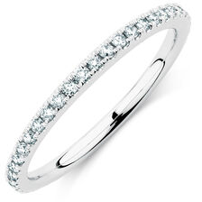 Sir Michael Hill Designer GrandArpeggio Wedding Band with 1/3 Carat TW of Diamonds in 14kt White Gold