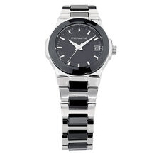Ladies Watch in Black Ceramic & Stainless Steel