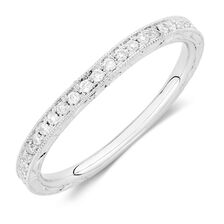 Sir Michael Hill Designer GrandAmoroso Wedding Band with 1/4 Carat TW of Diamonds in 14kt White Gold