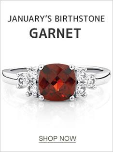 JANUARY'S BIRTHSTONE: GARNET