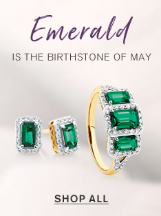 Emerald is the birthstone of May