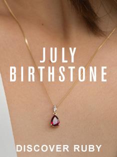 JULY BIRTHSTONE RUBY
