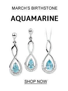 March's birthstone. AQUAMARINE