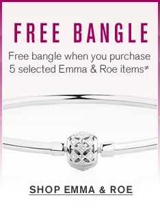 Free bangle when you purchase 5 selected Emma & Roe items