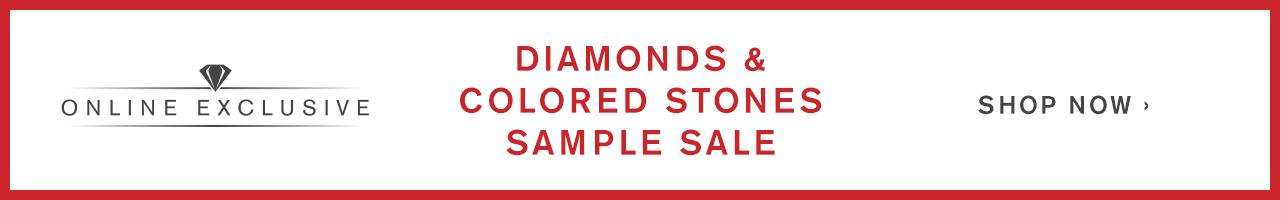 Colored Stones Sample Sale