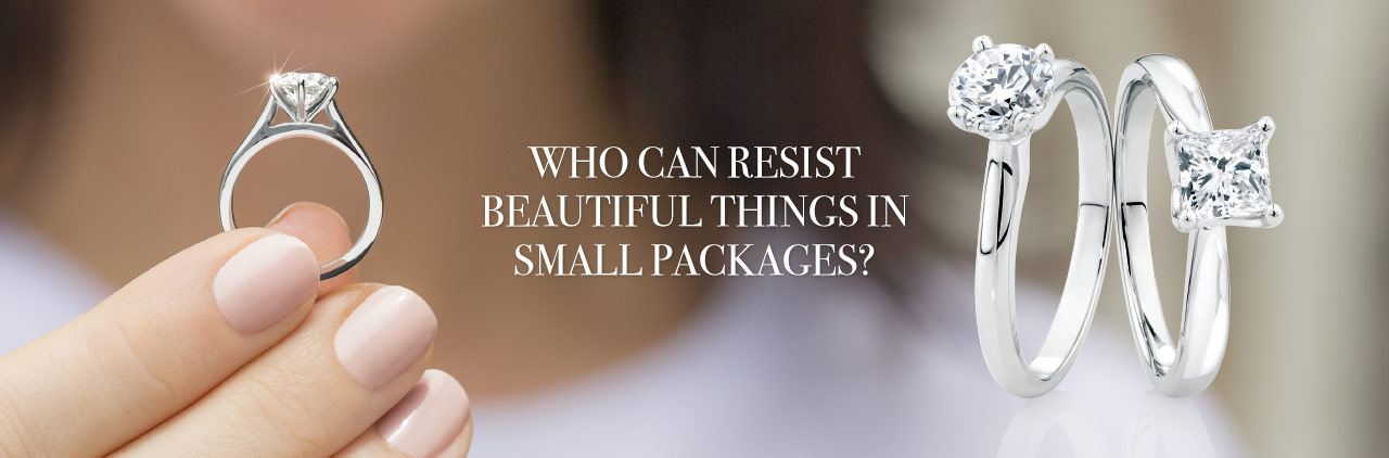 WHO CAN RESIST BEAUTIFUL THINGS IN SMALL PACKAGES?