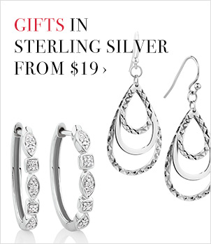 GIFTS IN STERLING SILVER FROM $19 ›