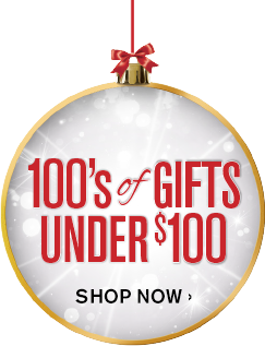 100's OF GIFTS UNDER $100