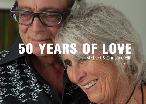 Discover real stories of love. Read Michael & Christine's story.