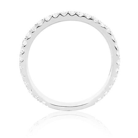 Sir Michael Hill Designer GrandArpeggio Wedding Band with 3/8 Carat TW of Diamonds in 14kt White Gold