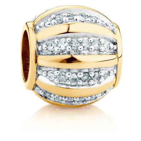 1/6 Carat TW Diamond Marrakesh Charm