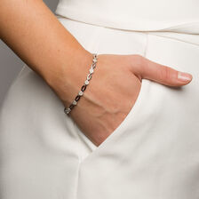 Bracelet with 1 Carat TW of Diamonds in 10kt White Gold