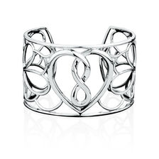 Infinitas Cuff in Sterling Silver