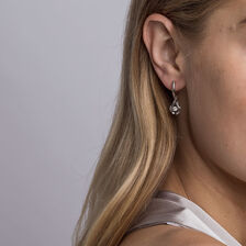 Everlight Earrings with 1/15 Carat TW of Diamonds in Sterling Silver