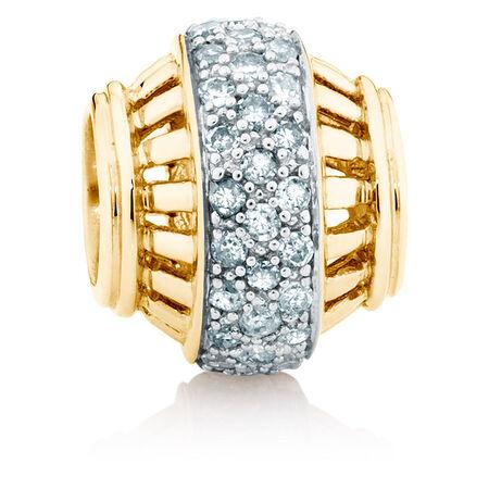1/4 Carat TW Diamond Marrakesh Charm