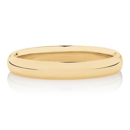 3mm Wedding Band in 10kt Rose Gold