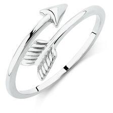 Arrow Ring in Sterling Silver