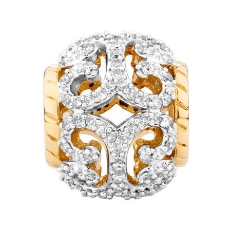 1/5 Carat TW Diamond Charm