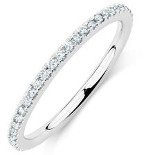 Sir Michael Hill Designer GrandAria Wedding Band with 1/3 Carat TW of Diamonds in 14kt White Gold