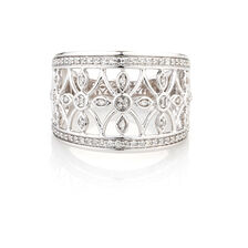 Online Exclusive - Diamond Ring with 1/4 Carat TW of Diamonds in 10kt White Gold