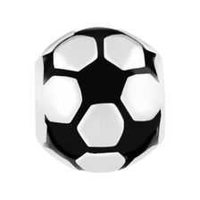 Sterling Silver Soccer Ball Charm